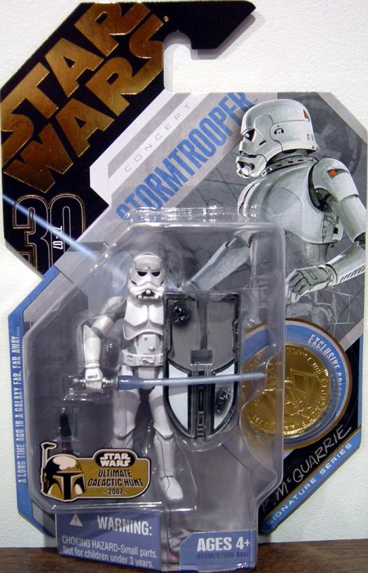 McQuarrie Concept Stormtrooper 30th Anniversary, No 09, Ultimate Galactic Hunt