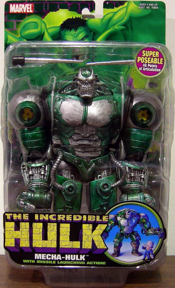 Mecha-Hulk Missile Launching Action Figure Toy Biz