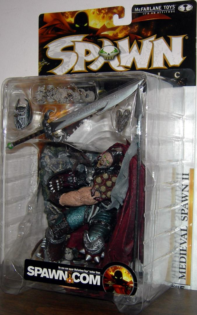 Medieval Spawn II No Blood action figure