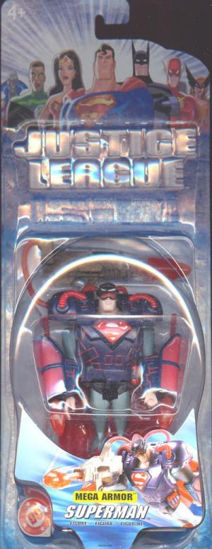 Superman Justice League Mega Armor