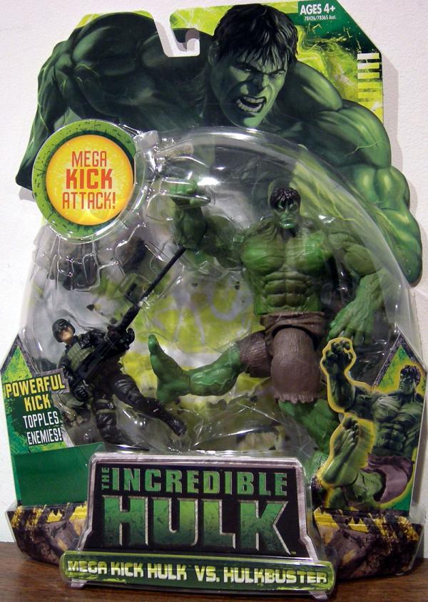Mega Kick Hulk vs Hulkbuster movie