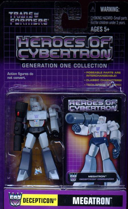 Megatron Heroes Cybertron