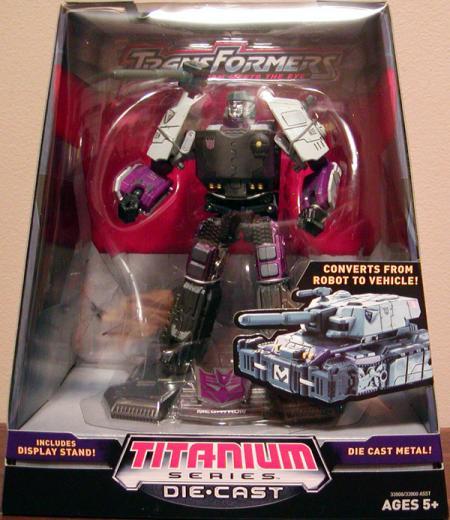 Megatron Titanium Series Die Cast