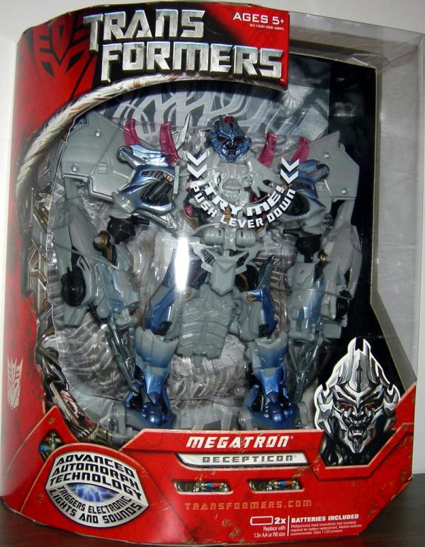 Megatron Figure Movie Leader Transformers Automorph