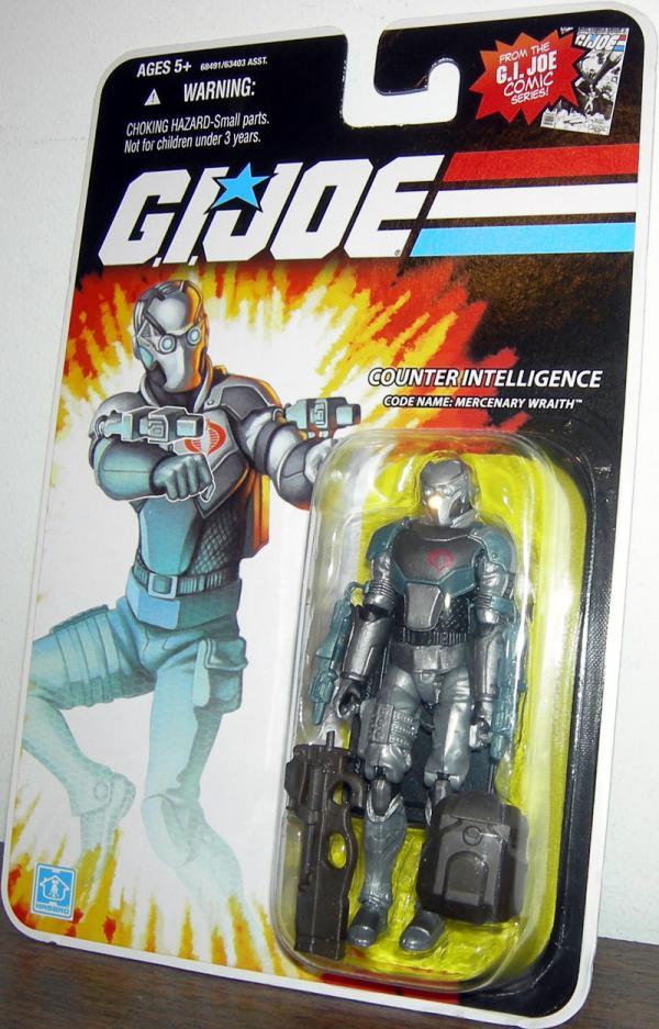 Counter Intelligence Code Name- Mercenary Wraith action figure