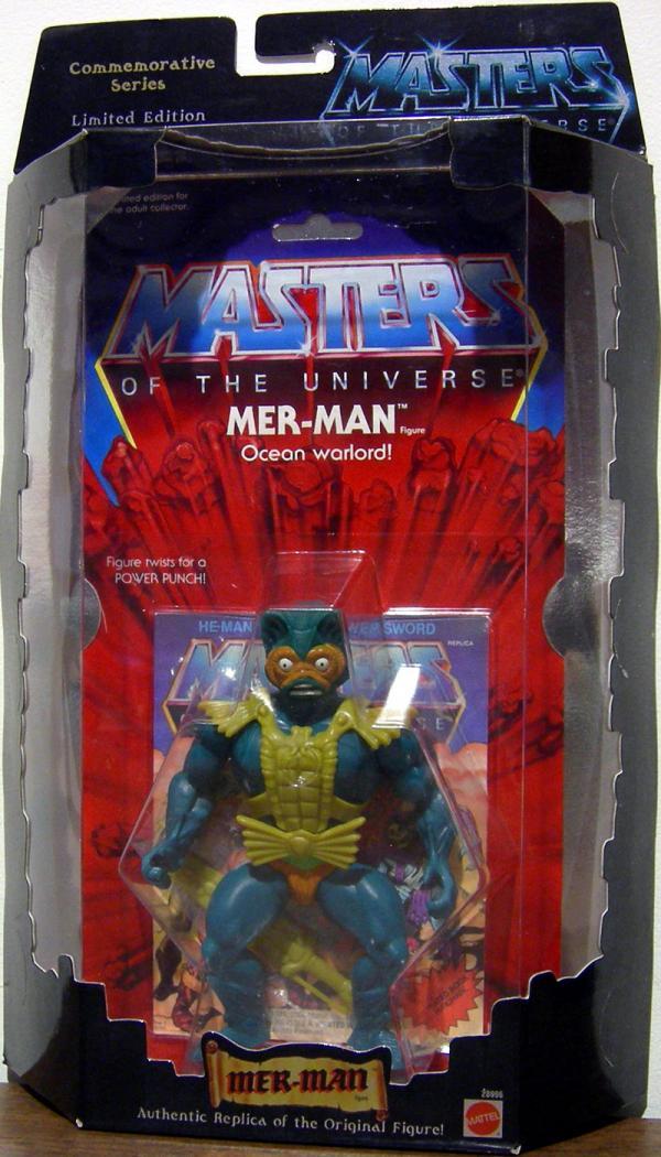 Mer-Man Figure Commemorative Series Masters Universe