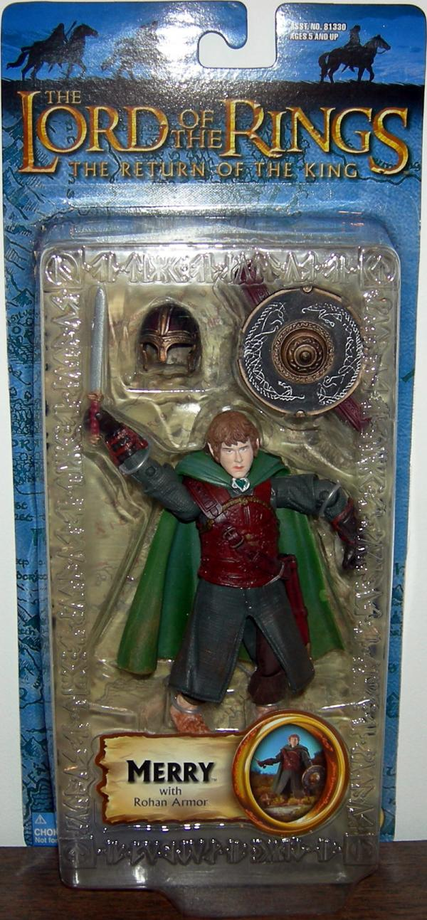 Merry Rohan Armor Figure Trilogy Lord Rings Toy Biz