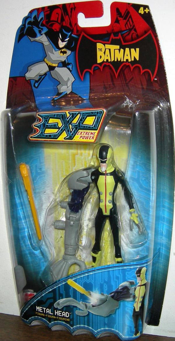 Metal Head Figure EXP Extreme Power Batman