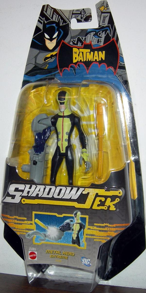 Metal Head Extreme Figure ShadowTek Black Green Batman