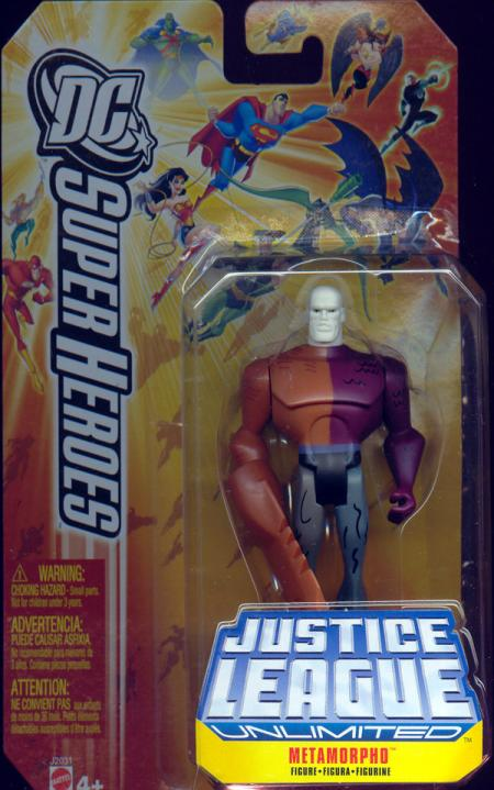 Metamorpho Figure DC SuperHeroes Justice League Unlimited