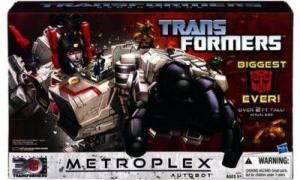 Metroplex Autobot Scamper Action Figures Transformers Generations Titan Class