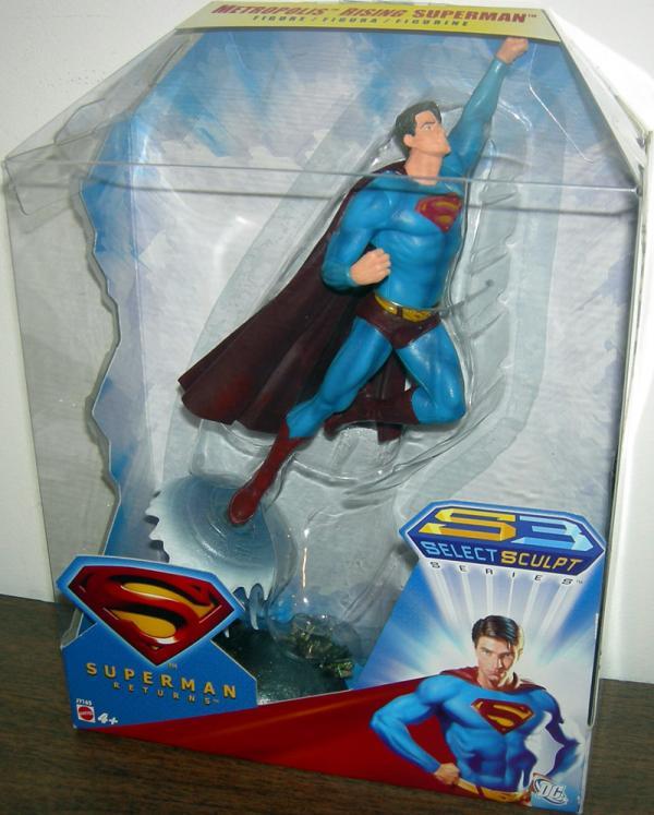 Metropolis Rising Superman