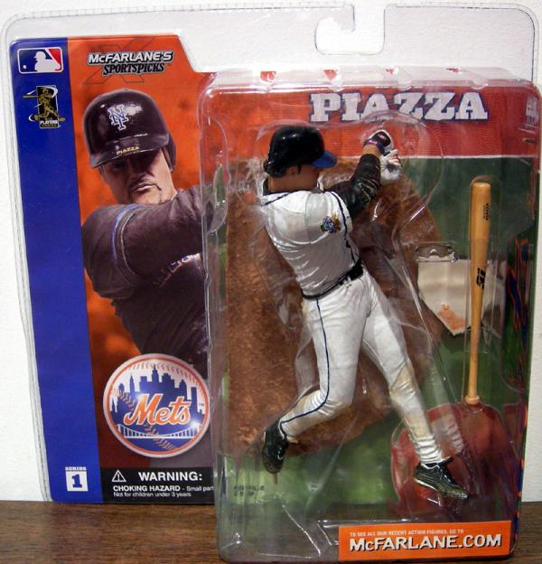 Mike Piazza white jersey