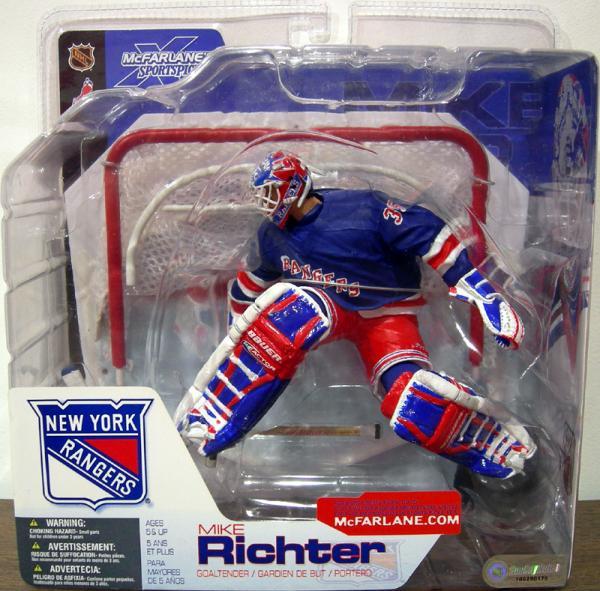 Mike Richter blue jersey