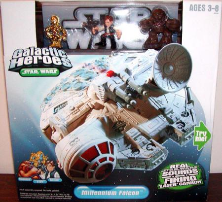 Millennium Falcon Vehicle Galactic Heroes Star Wars