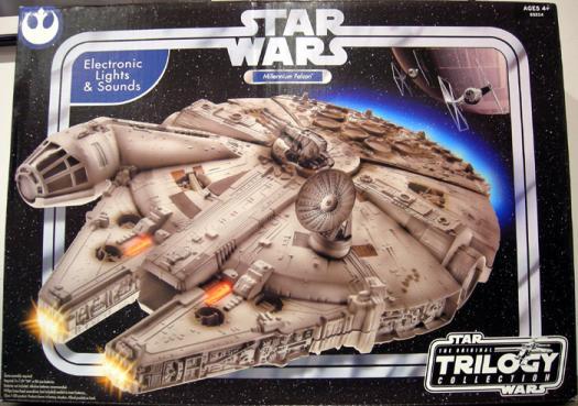 Millennium Falcon Original Trilogy Collection Star Wars vehicle