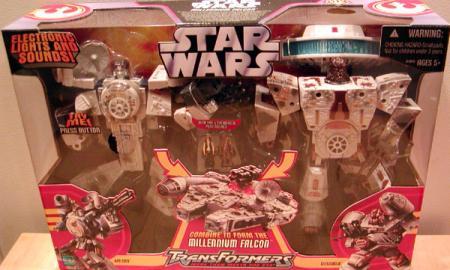 Millennium Falcon Transformers