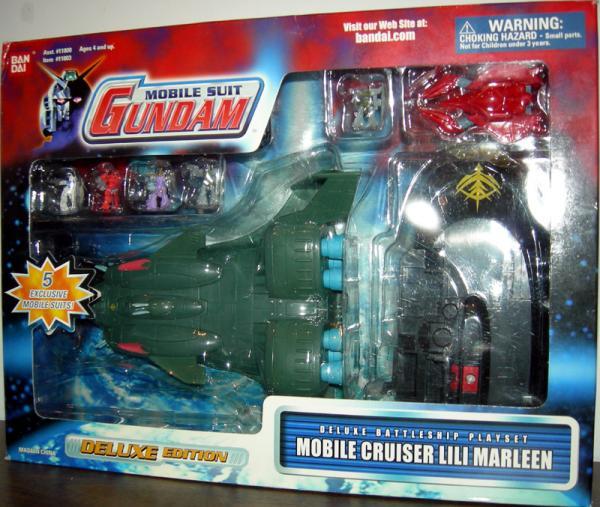 Mobile Cruiser Lili Marleen Suit Gundam action figure
