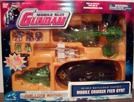 Mobile Cruiser Peer Gynt Suit Gundam action figure