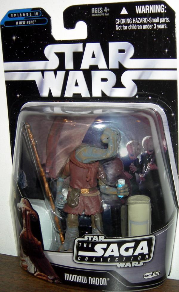 Momaw Nadon Figure Saga Collection 031 Star Wars