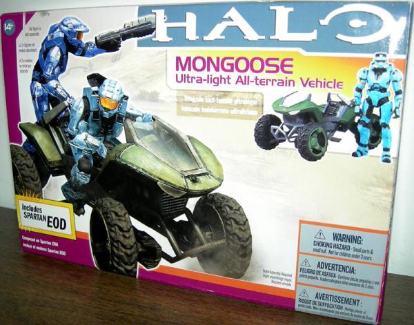 Mongoose Spartan EOD cyan