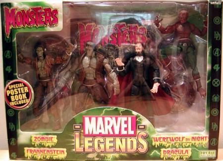 Monsters 4-Pack Marvel Legends