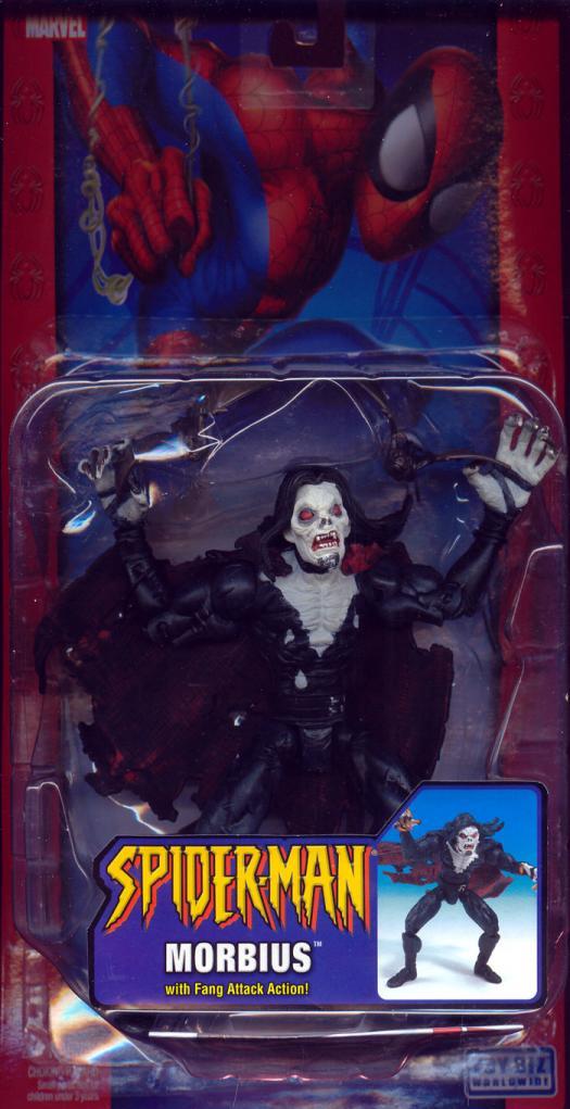 Morbius Classic Spider-Man action figure