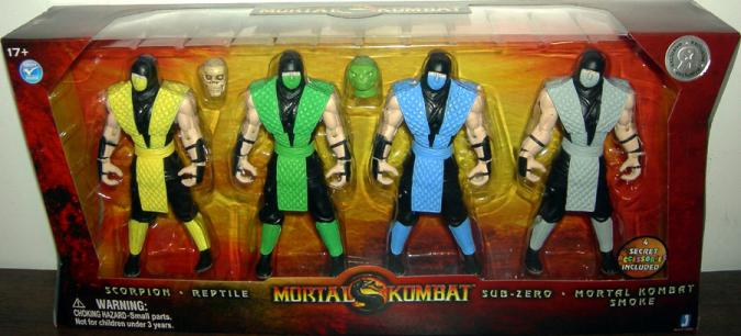 Mortal Kombat Action Figures Toys R Us Exclusive Jazwares