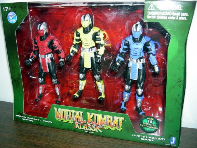 Mortal Kombat Klassic Figures Jazwares