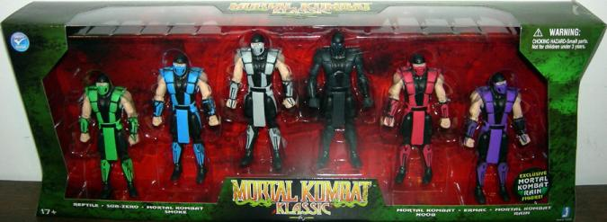 Mortal Kombat Klassic Action Figures Jazwares