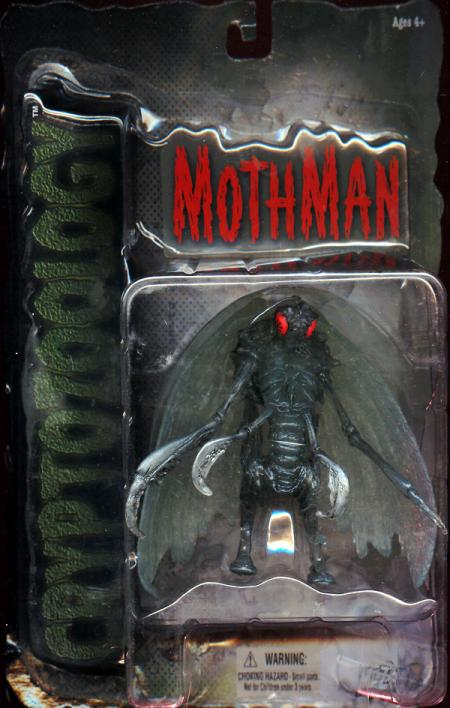 Mothman Cryptozoology Action Figure Mezco Toyz