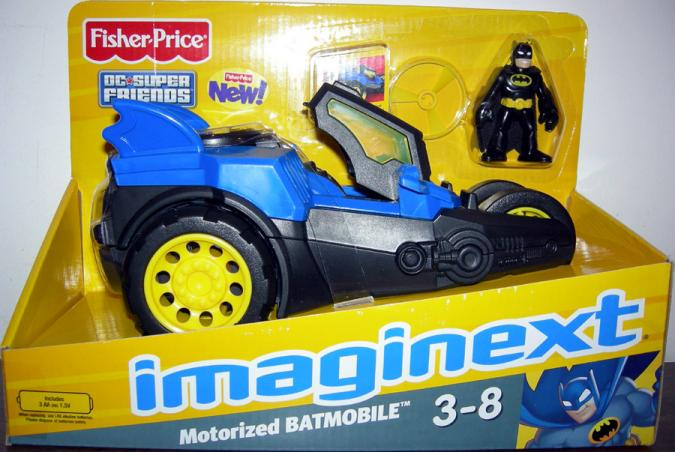 Motorized Batmobile Imaginext