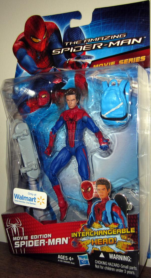 Movie Edition Amazing Spider-Man Action Figure Walmart Exclusive