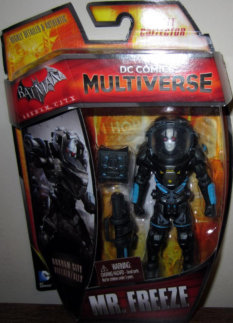 Mr Freeze Multiverse Action Figure DC Comics Batman Arkham City