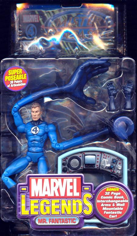 Mr Fantastic Marvel Legends