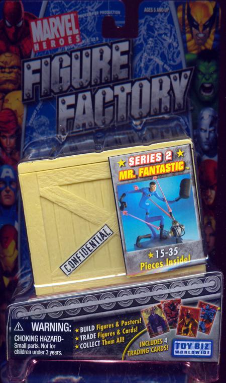Mr Fantastic Action Figure Factory Series 2 Toy Biz