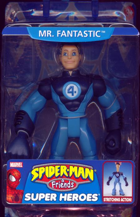 Mr Fantastic Spider-Man Friends