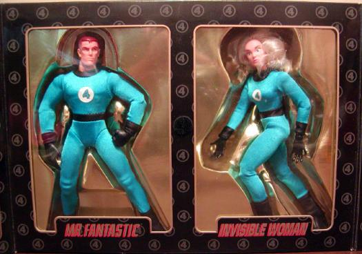 Mr Fantastic Invisible Woman 2-Pack Famous Covers