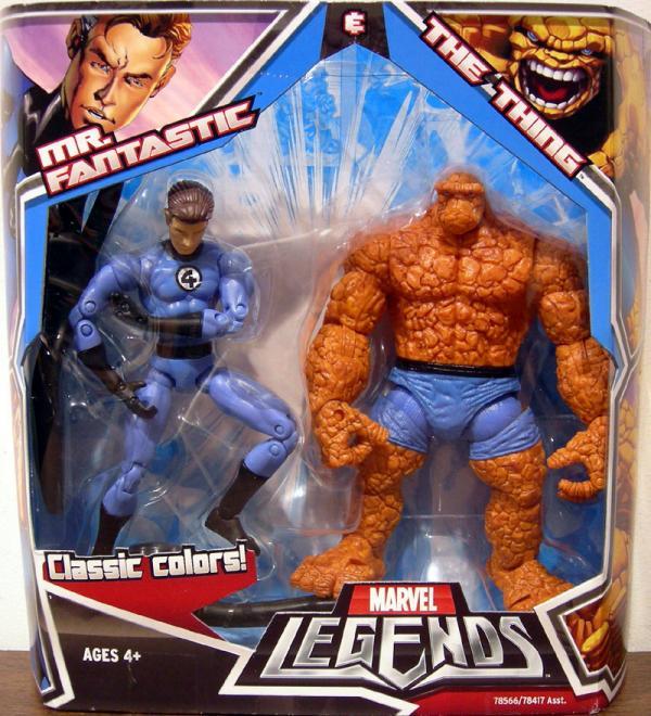 Mr Fantastic Thing 2-Pack Marvel Legends