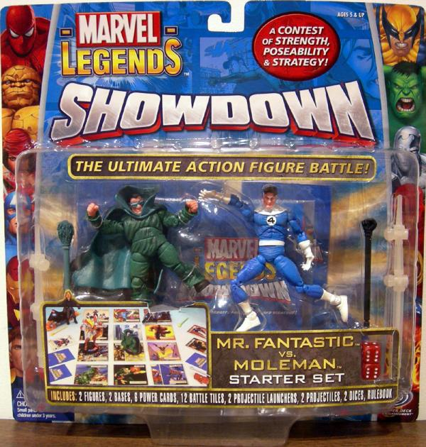 Mr Fantastic vs Moleman Marvel Legends Showdown variant