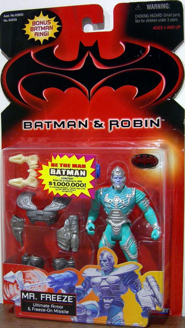 Mr Freeze Batman Robin, ultimate armor bonus Batman ring