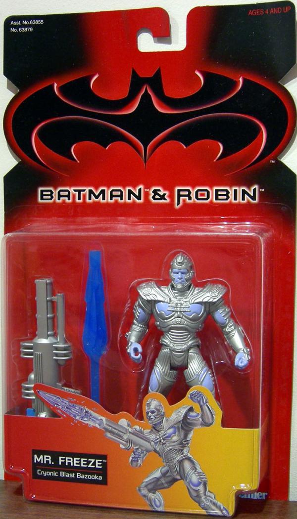 Mr Freeze Batman Robin