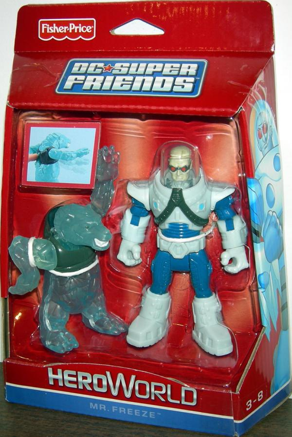 Mr Freeze Ice Bear DC Super Friends HeroWorld