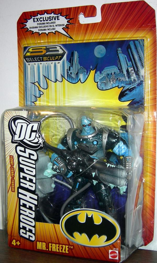 Mr Freeze DC SuperHeroes S3