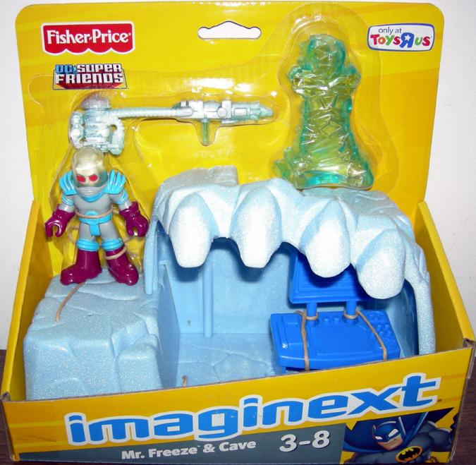 Mr Freeze and Cave Action Figure Imaginext Toys R Us Exclusive