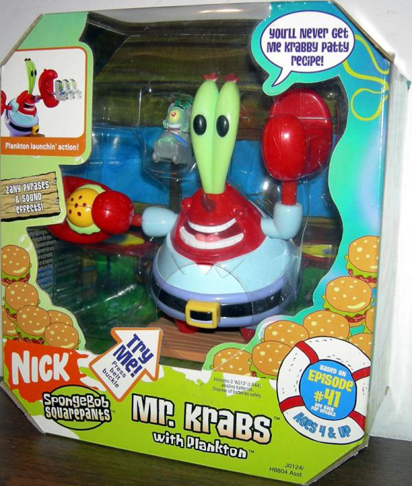 Mr Krabs Plankton