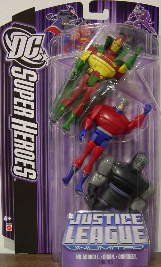 Mr Miracle Orion Darkseid Figures DC SuperHeroes JLU