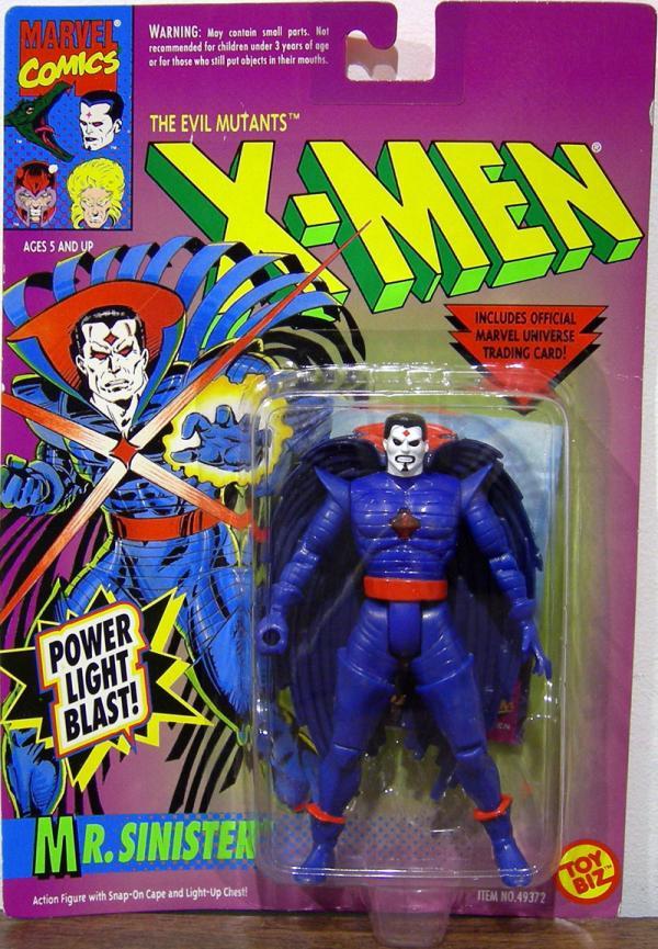 Mr Sinister Power Light Blast Goatee X-Men actio figure