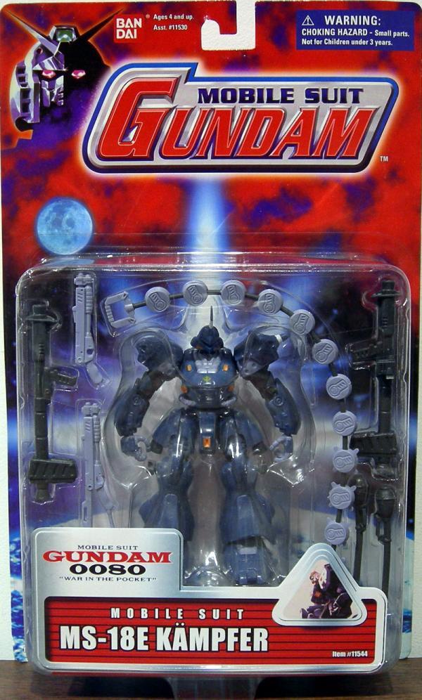 MS-18E Kampfer Red Card Mobile Suit Gundam action figure