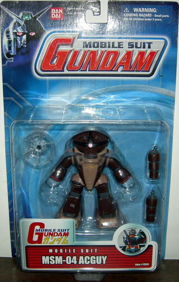 MSM-04 ACGUY Action Figure Mobile Suit Gundam Bandai